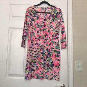 Bright tee shirt dress